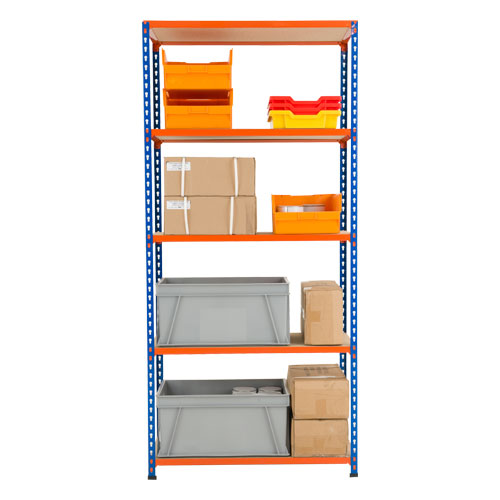 Rapid 2 Shelving (1830h x 915w) 5 Chipboard Shelves