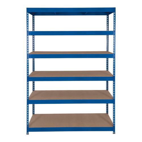 Rapid 3 Shelving (1800h x 1500w) Blue - 6 Chipboard Shelves