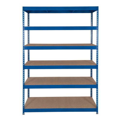 Rapid 3 Shelving (2000h x 1200w) Blue - 6 Chipboard Shelves