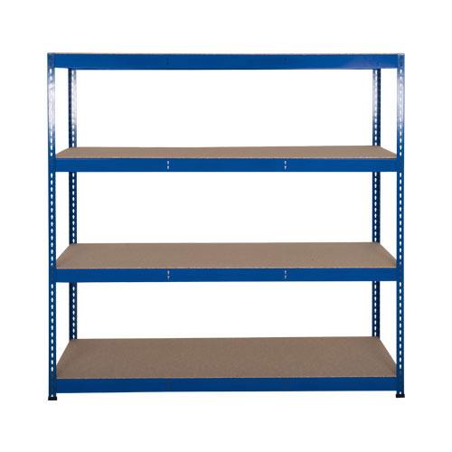 Rapid 3 Shelving (2000h x 1500w) Blue - 4 Chipboard Shelves