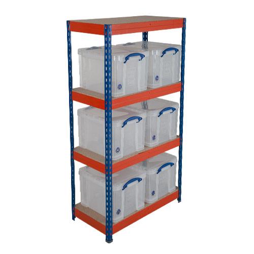 Really Useful Box Storage Unit 6 X 35 Litre Bo