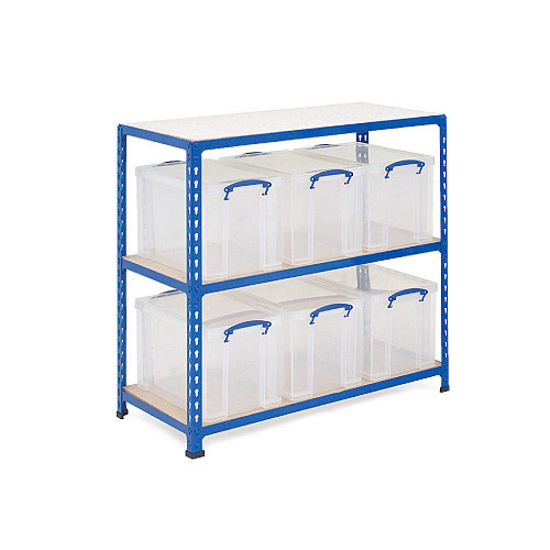 Really Useful Box Storage Unit - 6 x 24 Litre Boxes