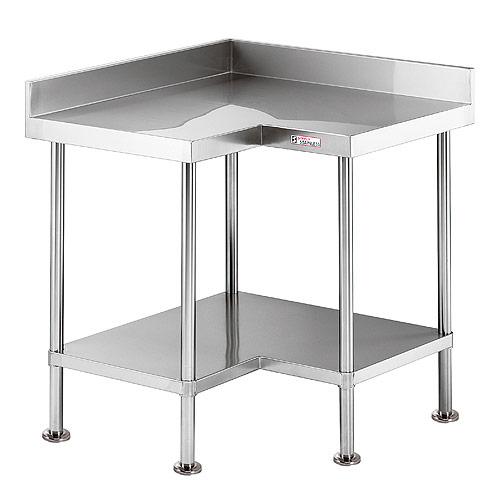 Stainless Steel Corner Bench