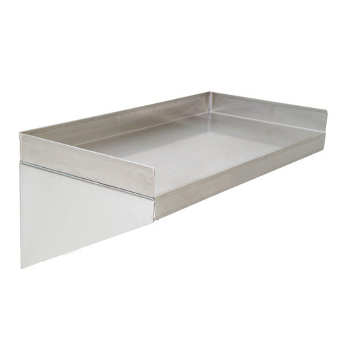 Solid Stainless Steel Shelves (250h x 300d)