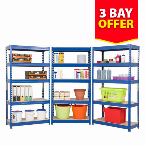 3 Bay Offer - Budget Shelving