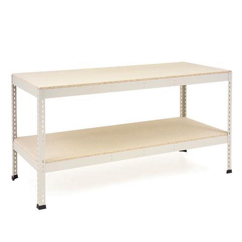 Rapid 1 - Heavy Duty Workbench (2440w) with Full Lower Shelf