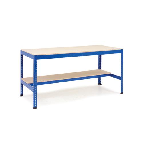 Rapid 1 - Heavy Duty Workbench (2440w) With Lower Half Shelf